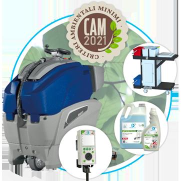 CAM 2021 servizi e supporto per le aziende