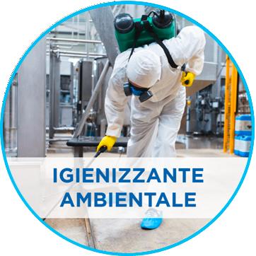 Nuovo detergente igienizzante per ambienti e superfici
