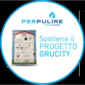 Perpulire sostiene il progetto GRUCITY