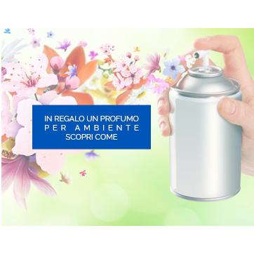Ricevi in omaggio un profumo per l'ambiente acquistando sul nostro store di prodotti per la pulizia professionale