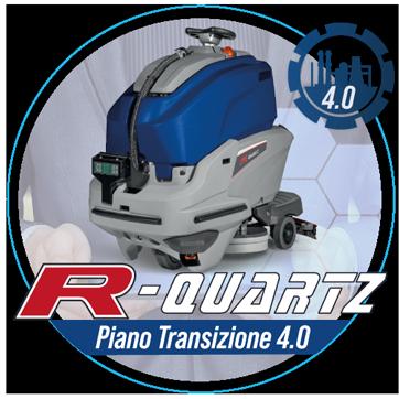Piano Transizione 4.0: Scopri come acquistare R-Quartz la macchina lavapavimenti robotizzata con il credito d'imposta