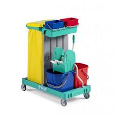 Carrelli pulizie | attrezzature per imprese di pulizia