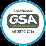 Redazionale su GSA agosto 2016