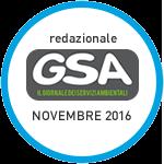 Redazionale su GSA novembre 2016
