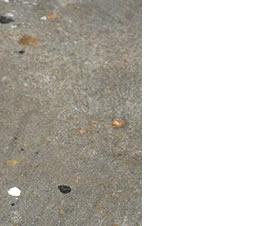 Macchie su superficie porosa di cemento: come eliminarle