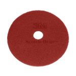 "DISCHI ABRASIVI   Disco Rosso (manutenzione regolare) da mm 406 - 16"" "" - 3M"
