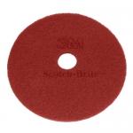 "DISCHI ABRASIVI   Disco Rosso (manutenzione regolare) da mm 460 - 18"" - 3M"