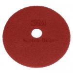 "DISCHI ABRASIVI   Disco Rosso (manutenzione regolare) da mm 480 - 19"" - 3M"
