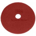 "DISCHI ABRASIVI   Disco Rosso (manutenzione regolare) da mm 505 - 20"" - 3M"